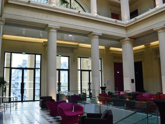 Baies vitrées - Hôtel Radisson Blu Nantes