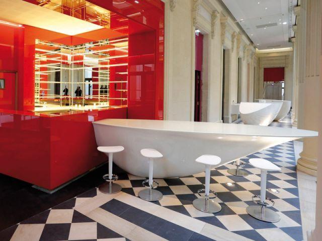 Bar de l'hôtel - Hôtel Radisson Blu Nantes