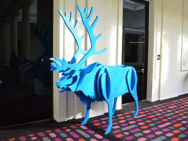 Sculpture - Hôtel Radisson Blu Nantes