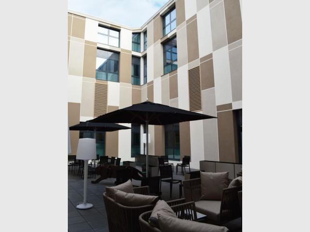 Cour - Hôtel Radisson Blu Nantes