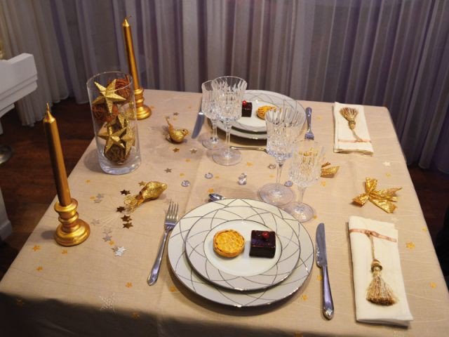Une table festive - Grand prix des arts de la table 2012