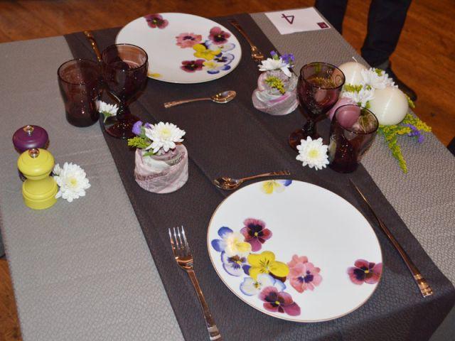 Lauréat du Grand prix des Arts de la table 2012, catégorie amateurs - Grand prix des arts de la table 2012