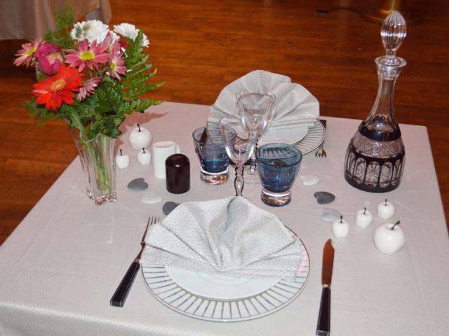 Une table simple et raffinée - Grand prix des arts de la table 2012