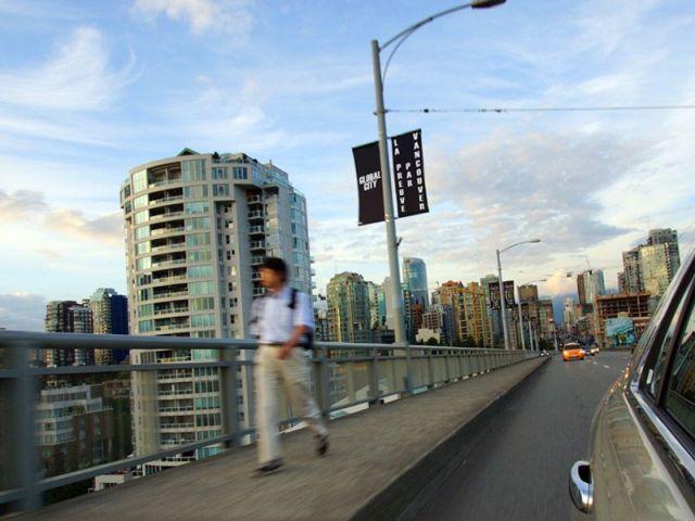Quartier de tours à Vancouver, Colombie Britanniqu