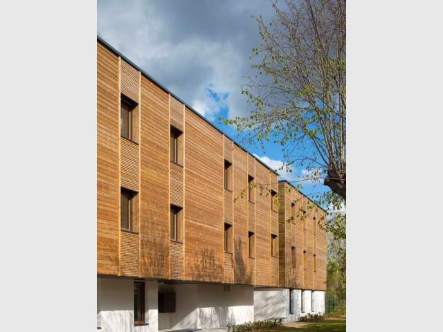 Des logements sociaux à Boussy-Saint-Antoine - Huits logements sociaux 100% bois