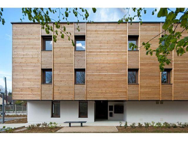 Du bois et du béton - logement bois