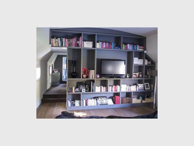 Cloison/Bibliothèque - Alexandre Nestora