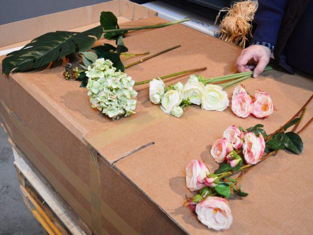 Matériel nécessaire - Pas à pas fleurs artificielles