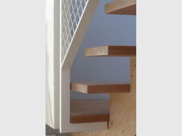 Détail escalier - Maison tour