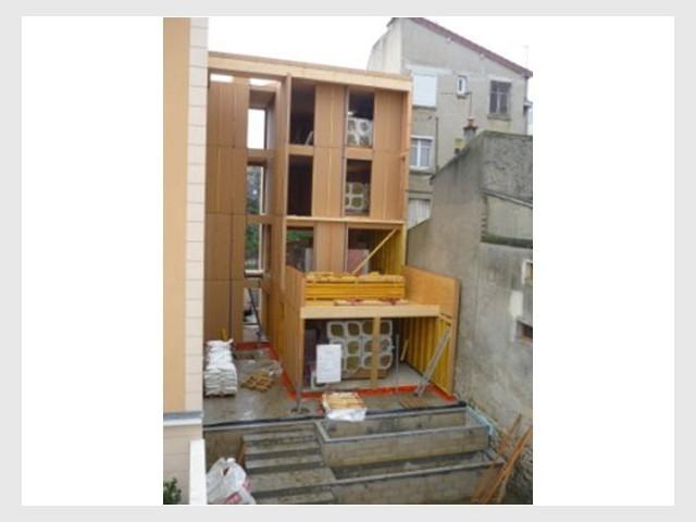 Structure bois - Maison tour