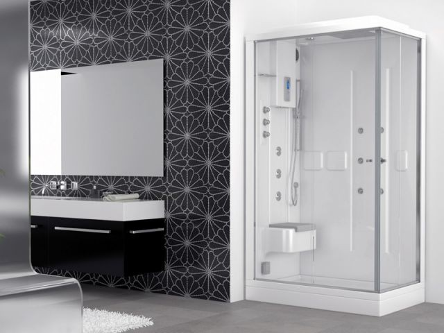 tendance bien tre un hammam chez soi. Black Bedroom Furniture Sets. Home Design Ideas