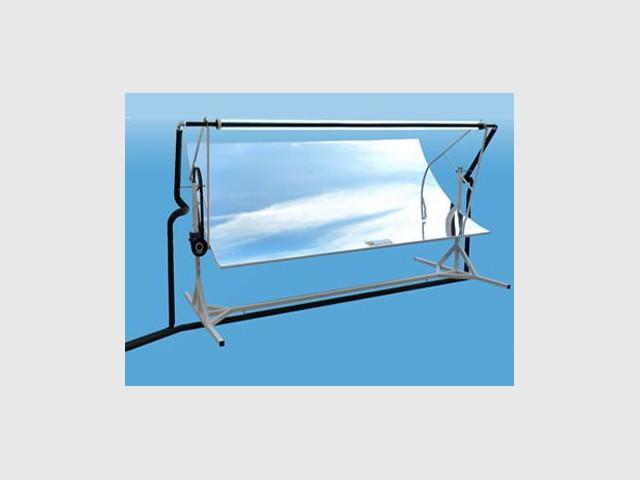 Capteur solaire thermique à concentration - Helioclim