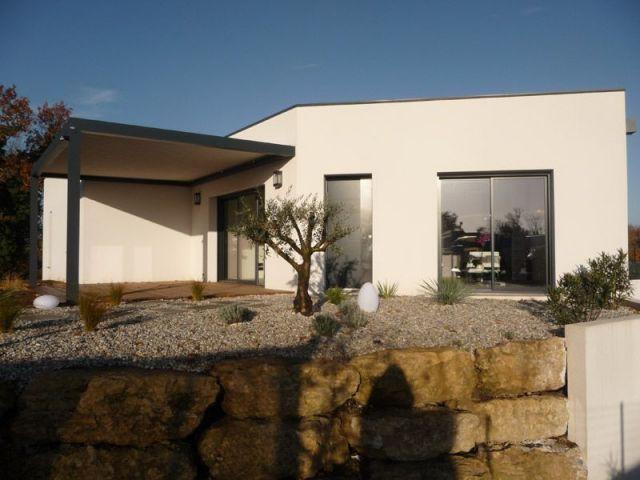Un maison bioclimatique - maison niort