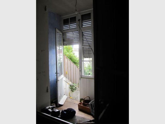 Séparation véranda/maison - Elodie Bonnet