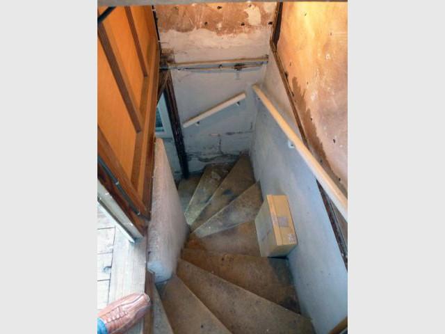 Ancien escalier intérieur - Elodie Bonnet