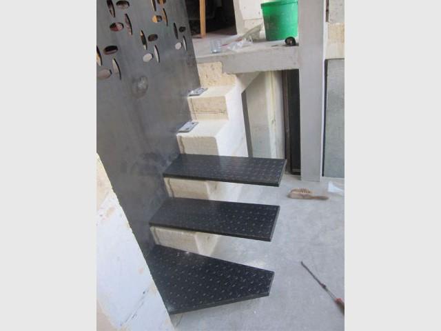 Nouvel escalier intérieur - Elodie Bonnet