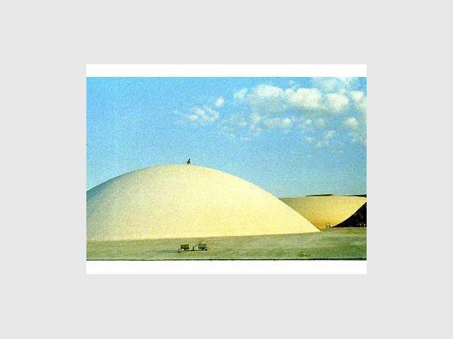 Dômes - Brasilia - Acervo do MRE
