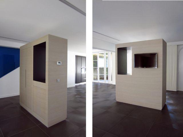 Un meuble unique pour l'entrée - Maison 500 m² Nogent sur Marne