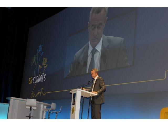 congrès de la FNAIM et Jean François Buet