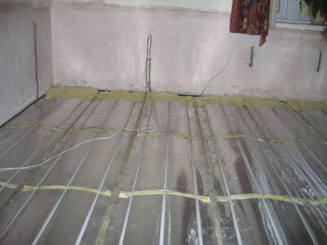 Installer un plancher chauffant
