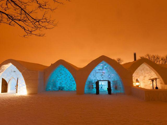 Chantier de longue haleine - Hôtel de glace