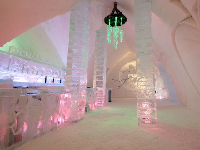 Bar de glace - Hôtel de glace
