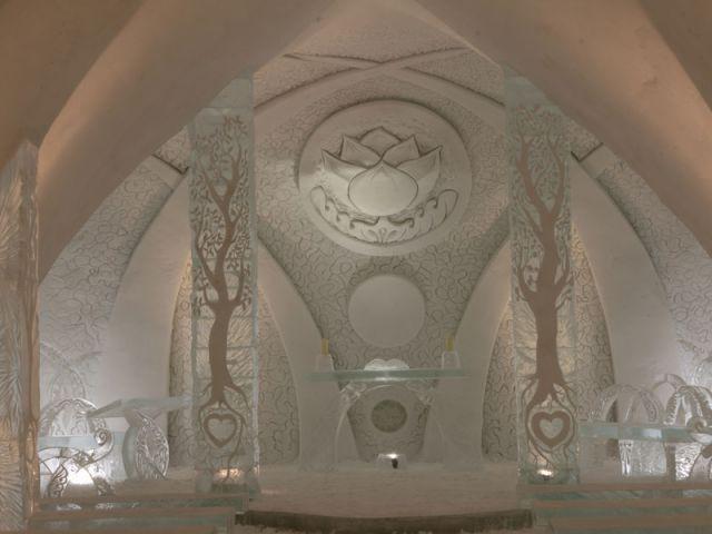Chapelle - Hôtel de glace