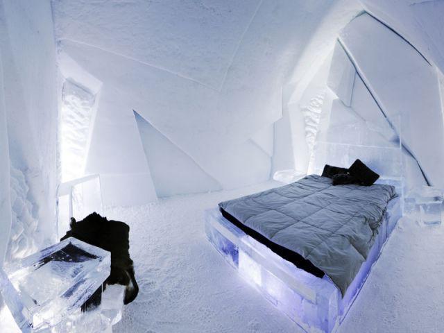 Grand froid - Hôtel de glace