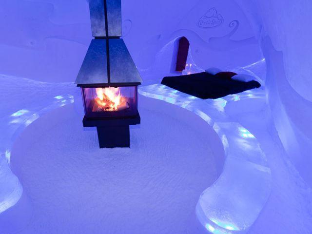 Tarif - Hôtel de glace