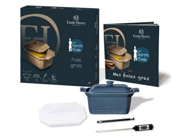 Kit complet et livre pour la cuisson du foie gras - Tout pour le foie gras