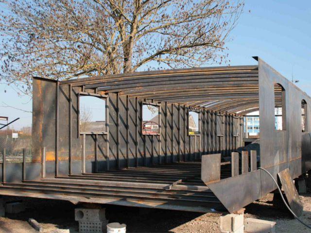 Structure acier - Loft boat