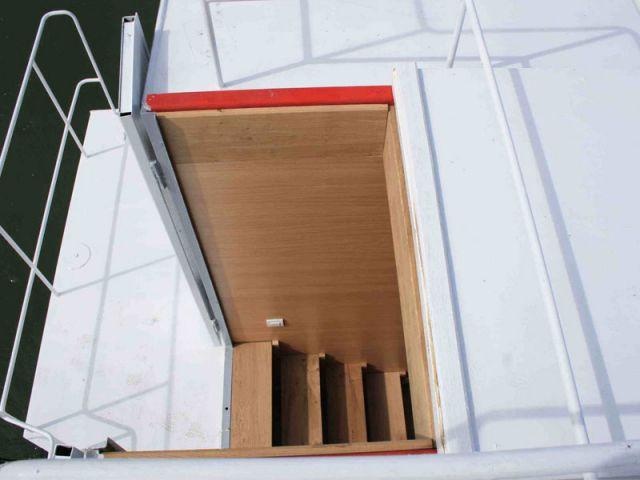 Accès facile - Loft boat