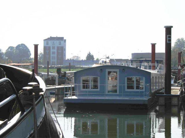 Un bateau comme pied à terre parisien - Loft boat