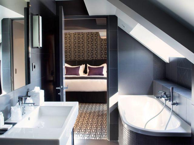Salle de bains - Grey Hôtel