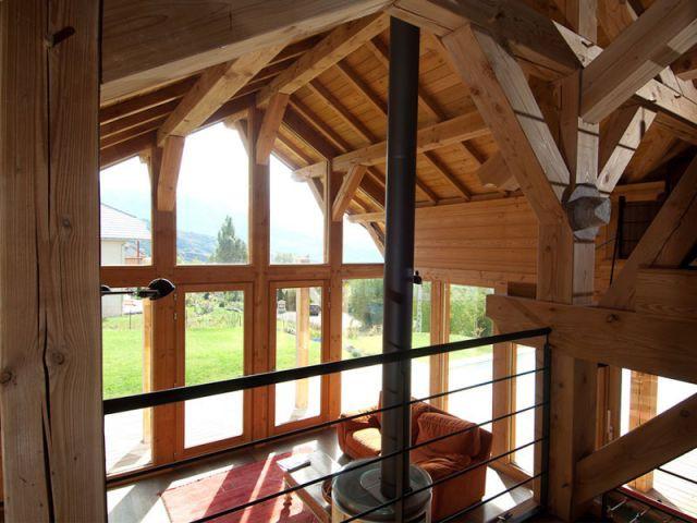 Un intérieur complètement ouvert - Chalet Bayrou