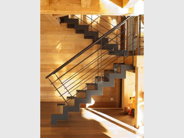 Escaliers en métal - Chalet Bayrou