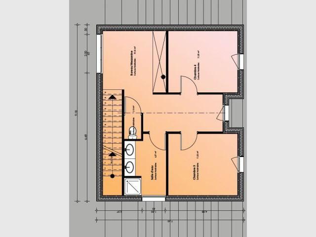 Plan - maison paille