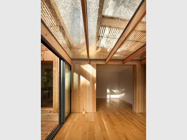 Plan revu et corrigé - Extension bois Nicola Spinetto Architecte
