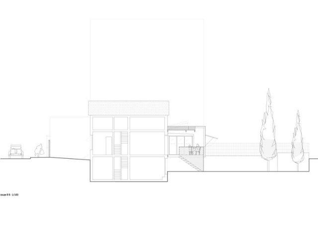 Une extension et une rénovation - Extension bois Nicola Spinetto Architecte
