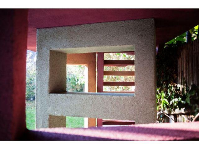 Creux et lumière - escalier meulière