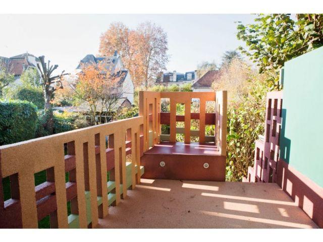 Terrasse - après - escalier meulière