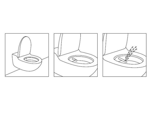 Le fonctionnement des WC lavants - Geberit
