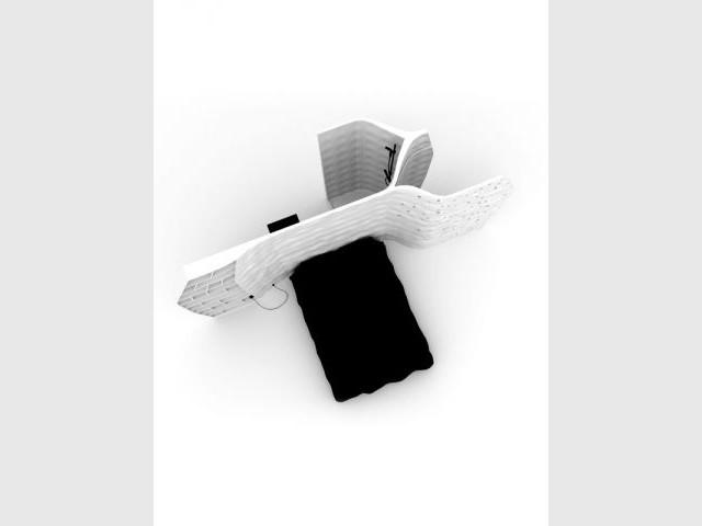 Un module de 15 m2 à l'allure futuriste - François Burment Habitat imprimé