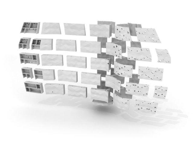 Insertion rangements - François Burment Habitat imprimé