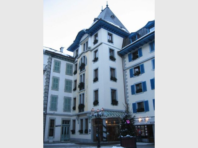Le grand hôtel des Alpes