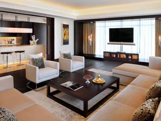 Living-room JW Marriott Marquis Dubaï