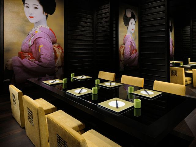 Restaurant japonais JW Marriott Marquis Dubaï