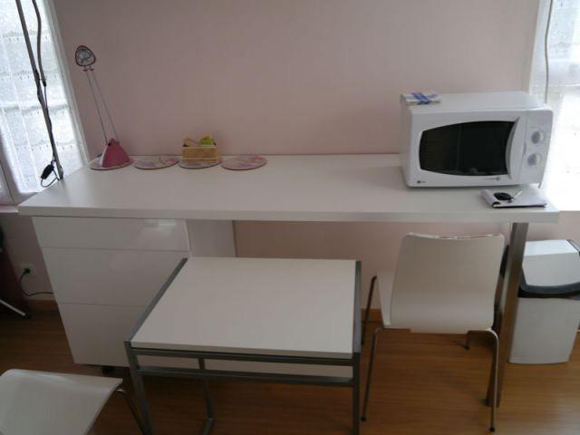 Studio Rueil table dépliante