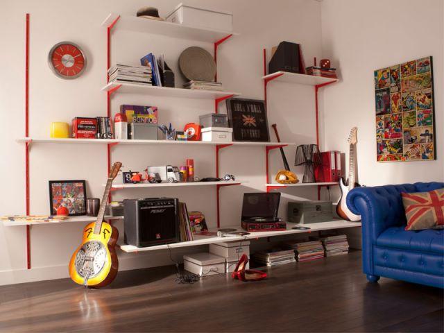 10 solutions de rangement en hauteur. Black Bedroom Furniture Sets. Home Design Ideas