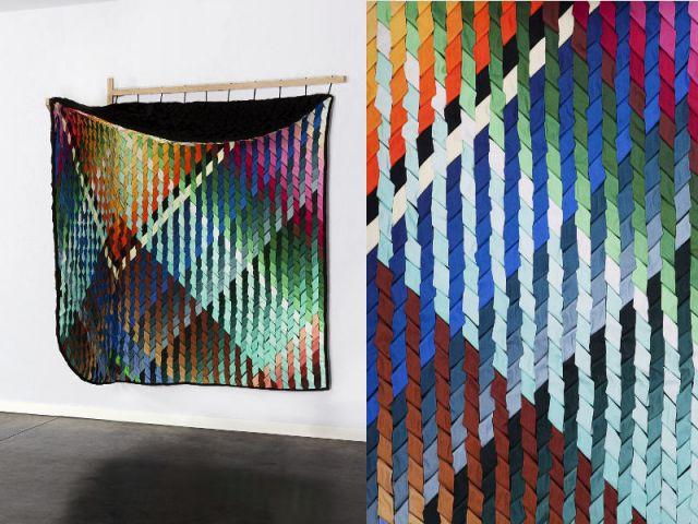 Cloison textile Frondesco par Statue - VIA aides à projet 2013